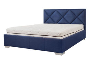 кровать с мягким изголовьем Веста