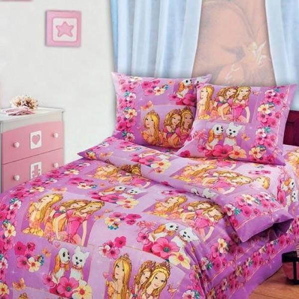 детская постель в кроватку Красавицы