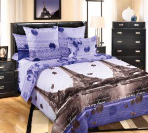 купить постельное белье Романтика Парижа
