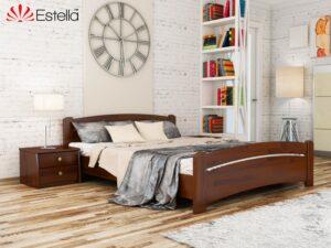 Двухспальная деревянная кровать Венеция Эстелла
