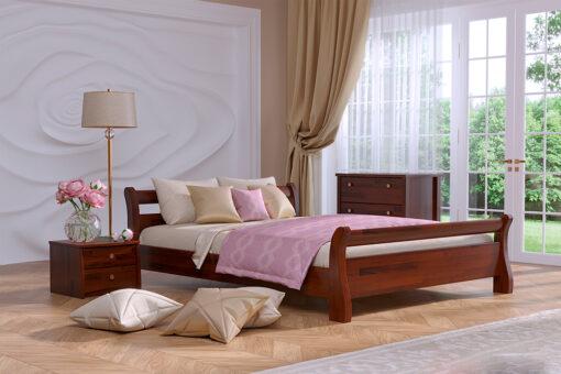 Кровать Титан цвет 108 каштан