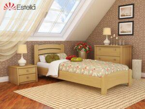 Кровать Венеция Люкс односпальная Эстелла