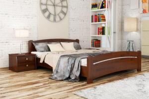 Кровать Венеция цвет 108 каштан