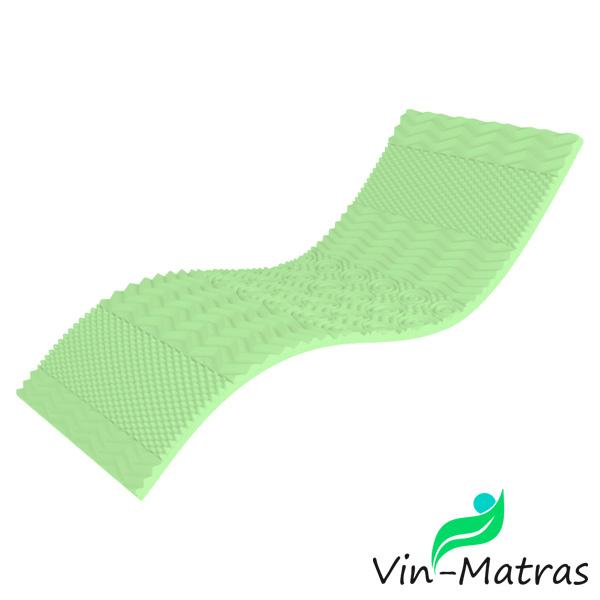 топпер матрас футон Top-Green-Take&Go-bamboo-эффект-5D