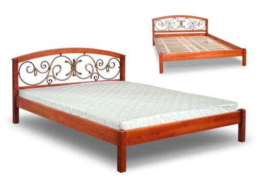 купить кровать Британия кованое изголовье