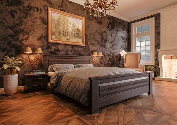 кровать из дерева купить Элит Нью