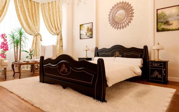 купить кровать из массива Мальва