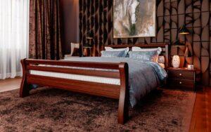 кровати из натурального дерева Ретро ЧДК