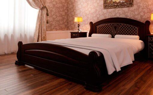 купить кровать из массива Женева ЧДК