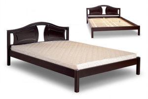 купить кровать Италия деревянное изголовье