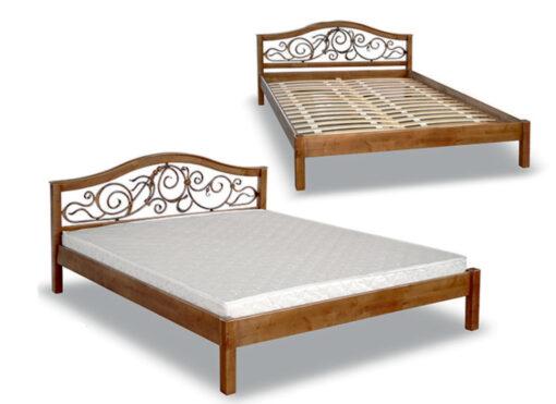 двуспальная кровать Италия кованное изголовье