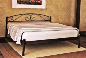 Металлическая кровать Верона Мадера