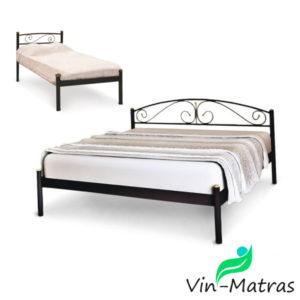 Металлическая-кровать-с-буковыми-ламелями