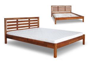 купить кровать Модерн деревянное изголовье