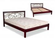 купить кровать Модерн кованное изголовье