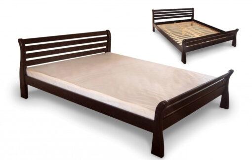 купить кровать Ретро деревянное изголовье