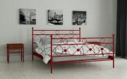 двуспальная кровать Бриана красный