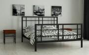 двуспальная кровать Дейзи черный
