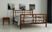 двуспальная кровать Дейзи коричневый