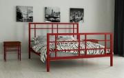двуспальная кровать Дейзи красный