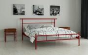 двуспальная кровать Диаз красный