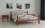 купить двух спальную кровать Гледис красный