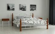 двуспальная кровать цена Гледис белый