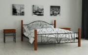 двуспальная кровать Изабелла черный
