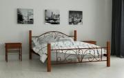 двуспальная кровать Изабелла коричневый