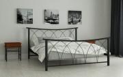 двуспальная кровать Кира черный