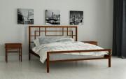 двуспальная кровать Лейла коричневый