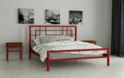 двуспальная кровать Лейла красный
