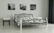 двуспальная кровать Мадера черный