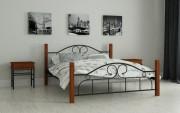 двуспальная кровать Принцеса черный