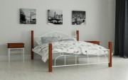 дешевые двуспальные кровати Принцеса белый
