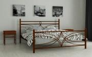 двуспальная кровать Тиффани коричневый