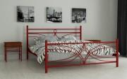 двуспальная кровать Тиффани красный
