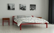 двуспальная кровать Вента красный