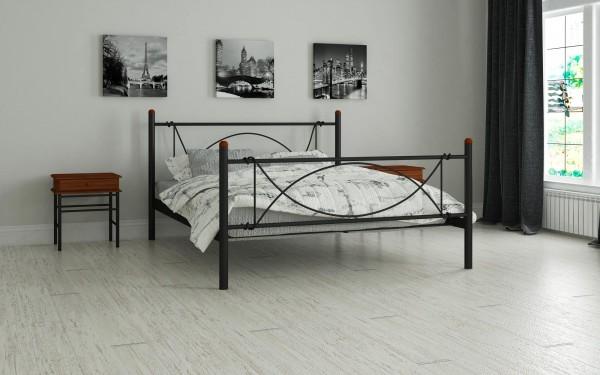металлические кровати Роуз