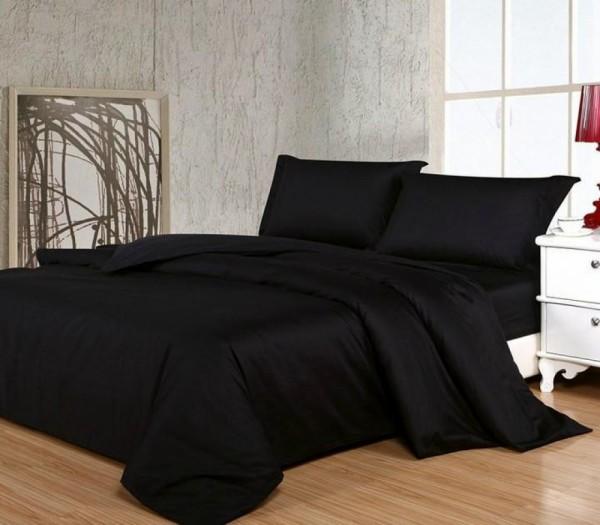 купить постельное белье BLACK черный