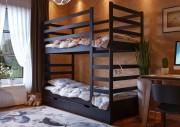 Кровать Эля двухъярусная ЧДК венге
