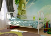 детская кровать Виктория белый