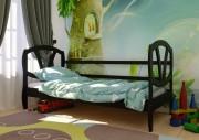 детская кровать Виктория ЧДК венге