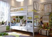 Кровать Виктория двухъярусная ЧДК белый