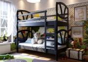 Кровать Виктория двухъярусная ЧДК венге