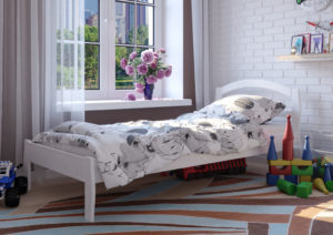 детская кроватка Юлия белый