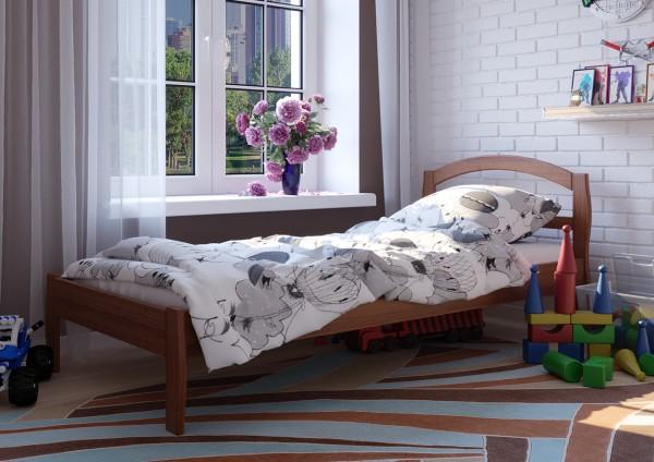 детские кроватки Юлия орех