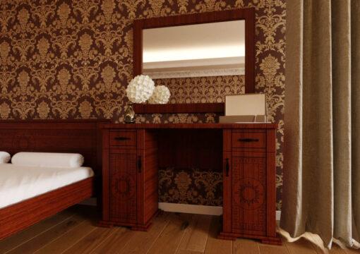 Туалетный столик Элит темный орех ЧДК