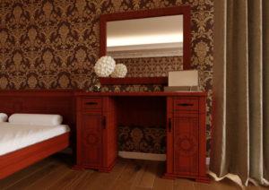 Туалетный столик Элит яблоня ЧДК