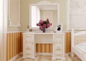 Туалетный столик Магнолия белый ЧДК